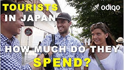 How Much Money Do Tourists in Tokyo, Japan Spend Per Day?