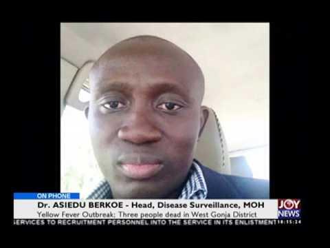 Yellow fever outbreak - News Desk on Joy News (8-1-16)
