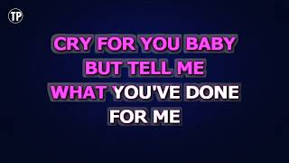 Done For Me - Charlie Puth feat. Kehlani | Karaoke Lower Key