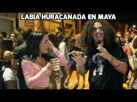Labia Huracanada En Maya