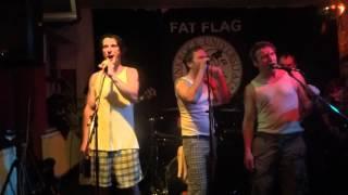 Helldriver Konzert Hafenbahnhof mit Fat Flag