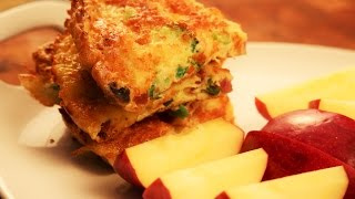 How To Make Yummy Veggie Omelet-kids Friendly/young Chef