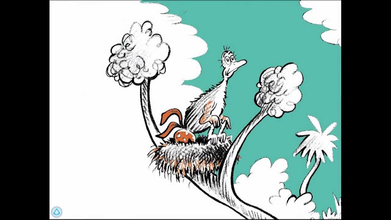 Seuss Book Horton Hatches the Egg by Dr New
