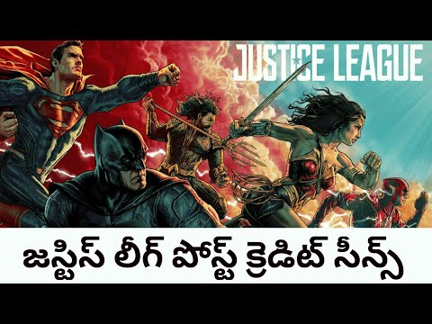 Justice league Review & Post credit scenes...