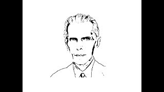 How to Draw Muhammad Ali Jinnah face pencil drawing step by step
