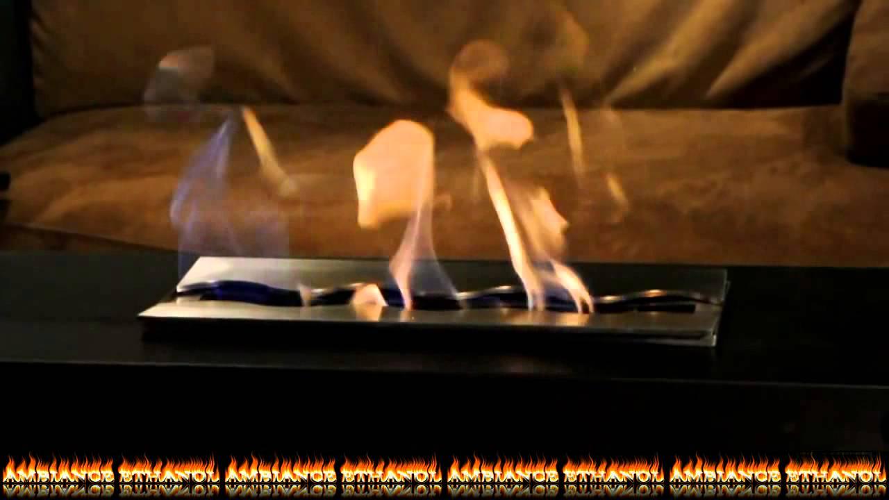 Comment allumer et utiliser une chemin e au bio thanol - Comment allumer une cheminee ...