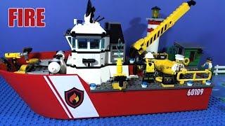 LEGO CITY FIRE BOAT 60109