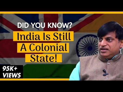 Why India Is Still A Colonial State | Sankrant Sanu | Srijan Talks