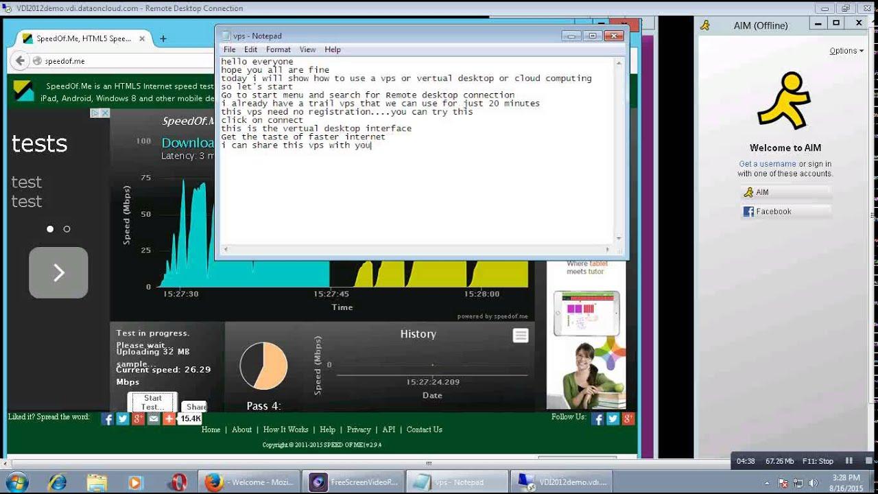 How To Use VPS Or Virtual Desktop/Cloud Computing