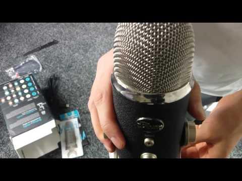 Blue Yeti Pro Unboxing & Mic Test