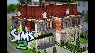 Mój najpiękniejszy dom w The Sims 2 + Info o Czarnej Wdowie The Sims 4