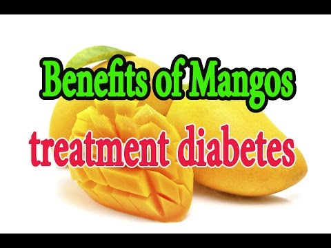 Benefits of Mangos,treatment diabetes,heart disease.  Doctor Child