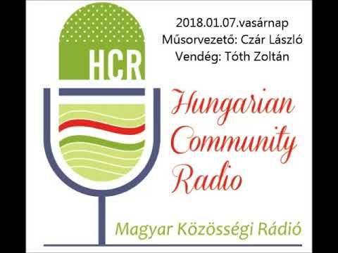 Magyar Kozossegi Radio Adelaide 20180107 Czar Laszlo