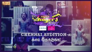 Super Singer Junior 5 – Chennai – Call For Promo