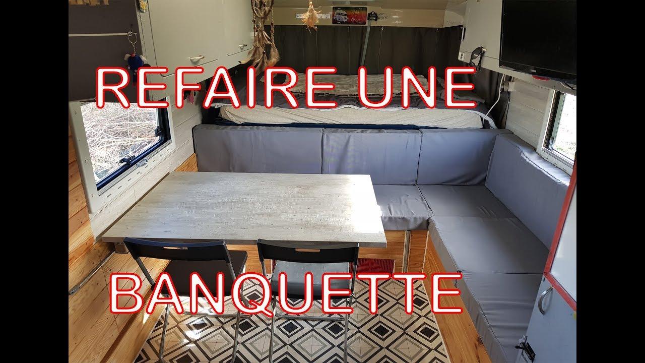 Comment Nettoyer Des Coussins De Caravane conseils : réfection coussins banquettes !!!