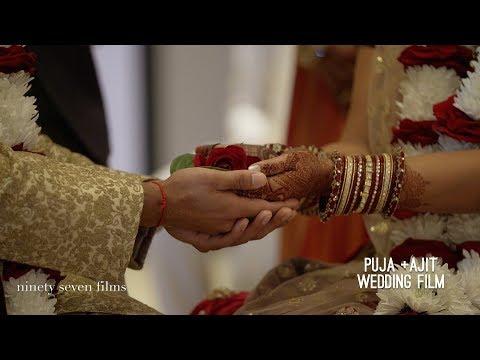MGM Grand Detroit and Westin Book Cadillac Hindu Wedding | Puja + Ajit Wedding Film