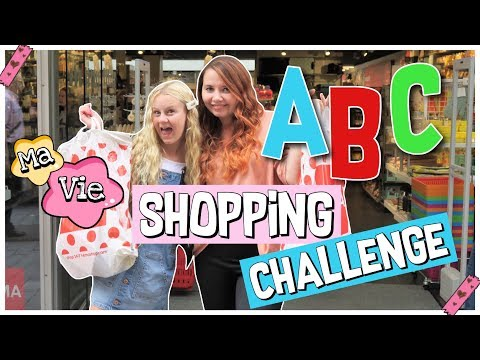 ABC BACK TO SCHOOL SHOPPING HAUL CHALLENGE mit FOXY | MaVie Noelle