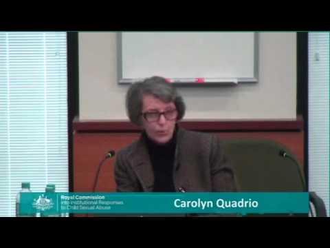 Carolyn Quadrio Ballarat May 25 2015