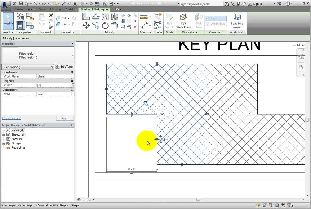 Revit Elevation Key Plan : Creating a key plan youtube
