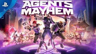 премьерный трейлер Agents of Mayhem