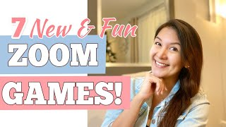 7 NEW EASY ZOOM GAMES TO PLAY | Fun Virtual Game Ideas For All Ages | SIMPLE AND FUN Virtual Games screenshot 4