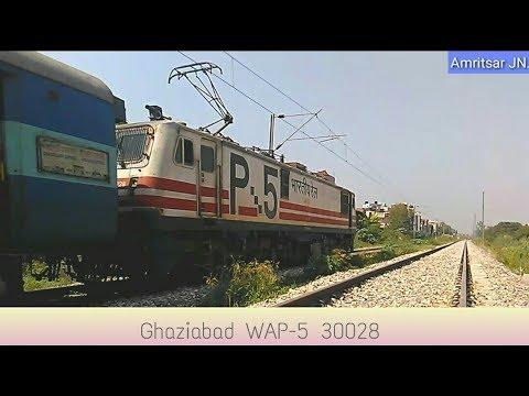 30028 WAP -5 !  Lucknow - Chandigarh Super fast express