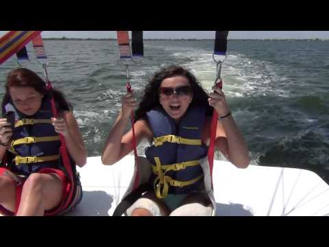 Parasailing Cocoa Beach Florida - Sky 1 Parasail - Fun Things To Do In Cocoa Beach