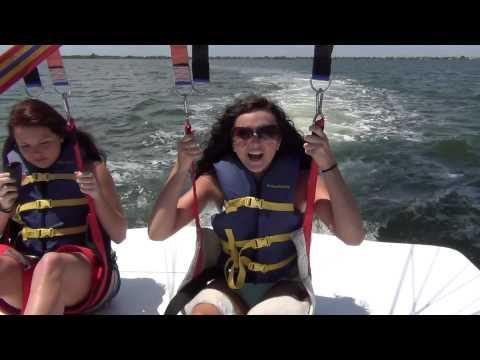 Parasailing Cocoa Beach Florida - Sky 1 Parasail - Fun Things To Do In Cocoa Beach