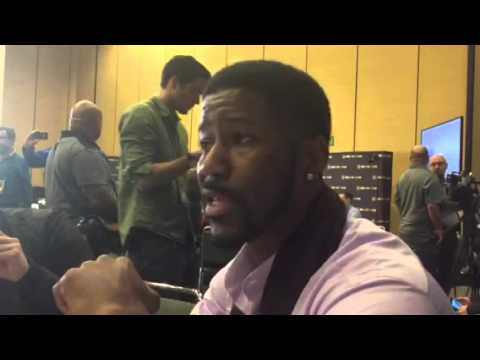 Nate Burleson Picks Carolina Panthers To Win Super Bowl 50 P1 #SB50