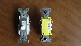 3-WAY SWITCH INSTALLATION - 3 Way Light Switches