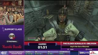 The Elder Scrolls IV: Oblivion by Garish in 37:03 - SGDQ2017 - Part 78