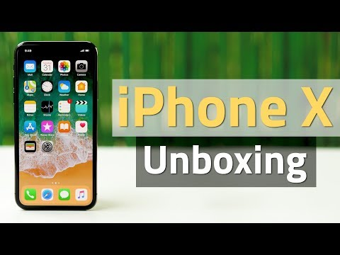 iPhone X Unboxing, Setup, Face ID, and Gestures: First Look