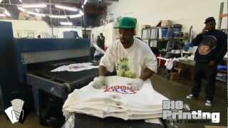 """Big Printing T Shirt Company """"A Day In The Life"""""""