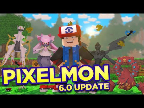 Pixelmon 6.0 Update Showcase - 200+ NEW...