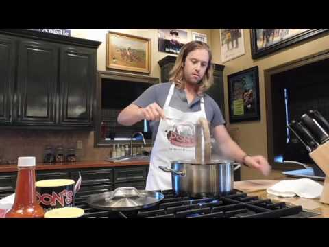 What's Cookin? How To Properly Heat Don's Boudin.