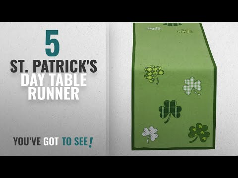 Top 10 St. Patrick'S Day Table Runner [2018] | New & Popular