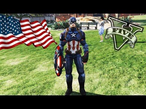 скачать мод на гта 5 на капитана америку - фото 2