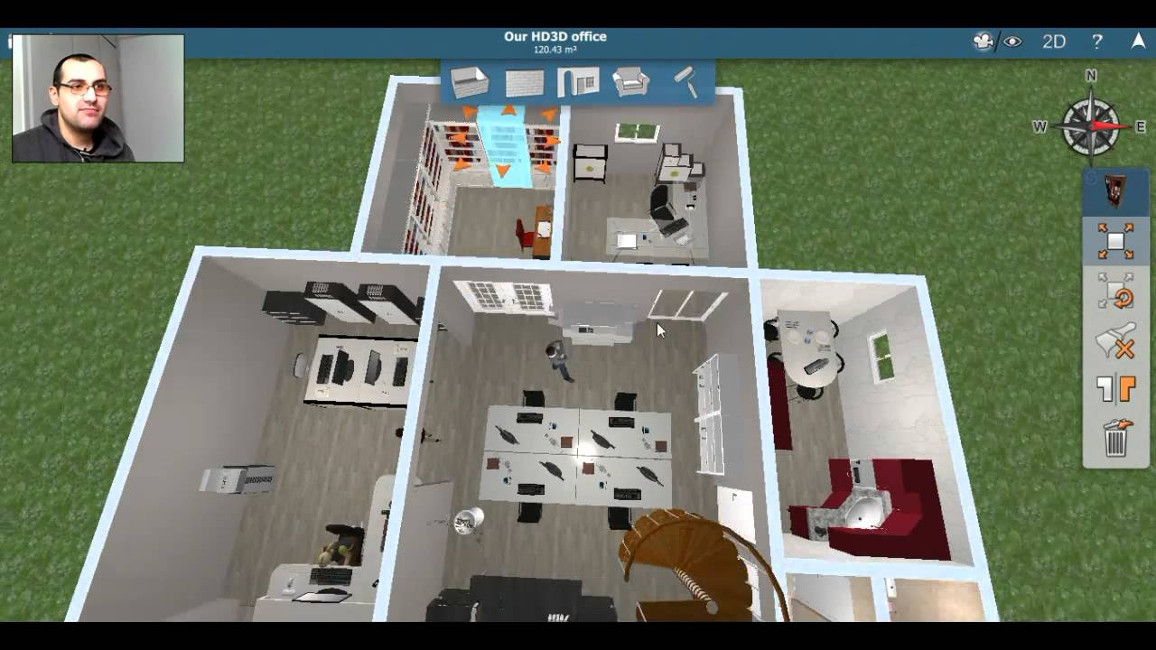 Home design 3d review and walkthrough pc steam version youtube Home designer 3d