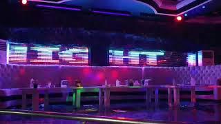 Titanic night club pixel şerit led sahne aydinlatma uygulama Kibris Mehmet Teke