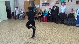 Испанский танец с кастаньетами. Школа фламенко Хосе Кармона