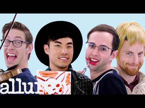 The Try Guys Try 9 Things They've Never Done Before | Allure