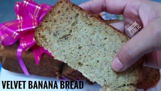 &quotFIRST PRIZE&quotwinning recipe&quotVELVET BANANA BREADഏതതപപഴ കണടര അടപള ബരഡ