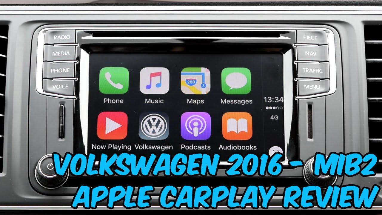 Volkswagen Apple CarPlay FULL Review - Discover Media (MIB2)