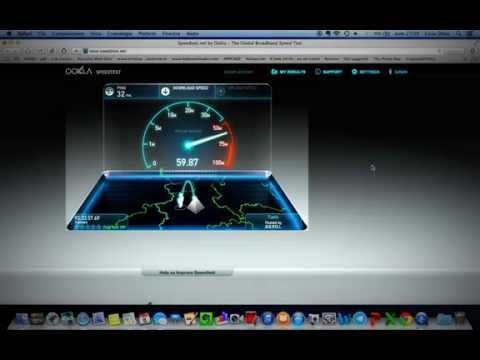 Speed Test Fastweb Fibra 100 mega mb fibra ottica Torino