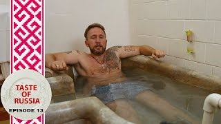 Life at a Russian spa: Stinky water, mud wraps, and fried rat - Taste of Russia Ep.13