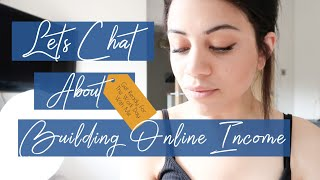 LETS CHAT: GET READY WITH ME FOR A DAY WORKING AT HOME || FEELING UNPRODUCTIVE || ONLINE BUSINESS