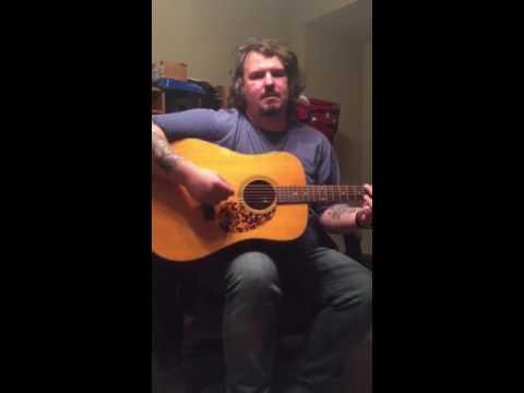 Shawn Brock plays Blueridge BR-140