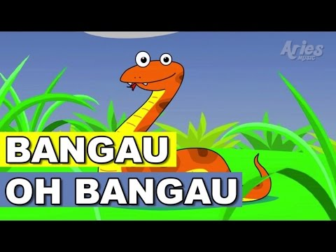 Alif & Mimi - Bangau Oh Bangau (Animasi 2D) Lagu Kanak Kanak