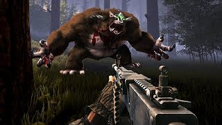 FINDING & HUNTING BIGFOOT!! (Finding Bigfoot Game)