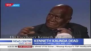 Former President of the Republic of Zambia Kenneth Kaunda dies after suffering from pneumonia
